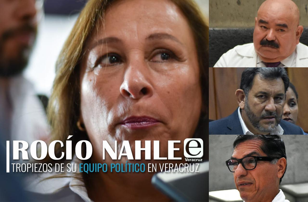 Nahle y sus aliados, objetos de críticas en el gobierno de la 4T de Veracruz