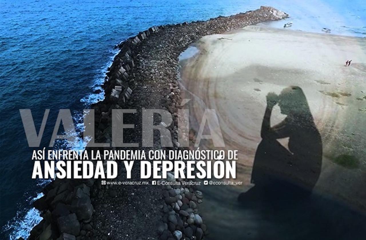 Ansiedad y depresión, enemigos de Valeria durante pandemia