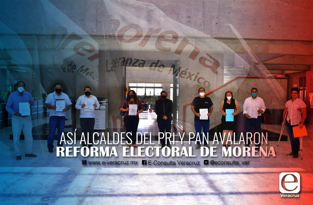 Estos alcaldes del PRI, PAN y PVEM validaron reforma electoral de Morena