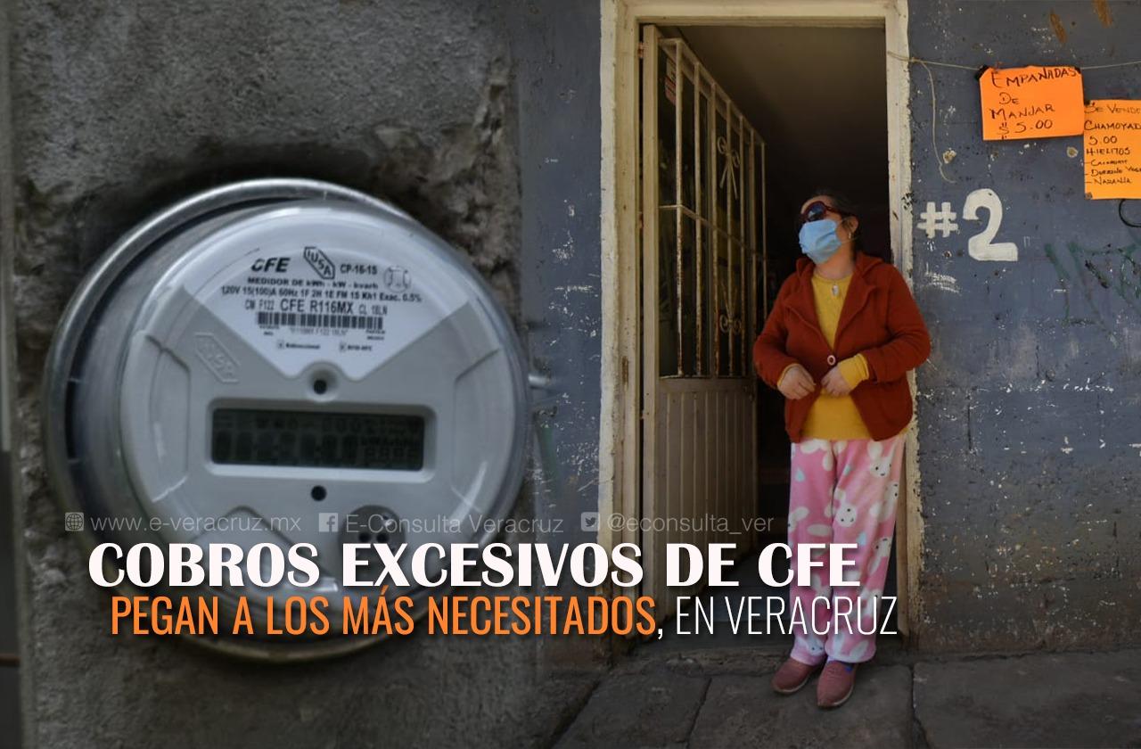 Vida de Benita depende de electricidad, pero CFE cuadruplicó su recibo