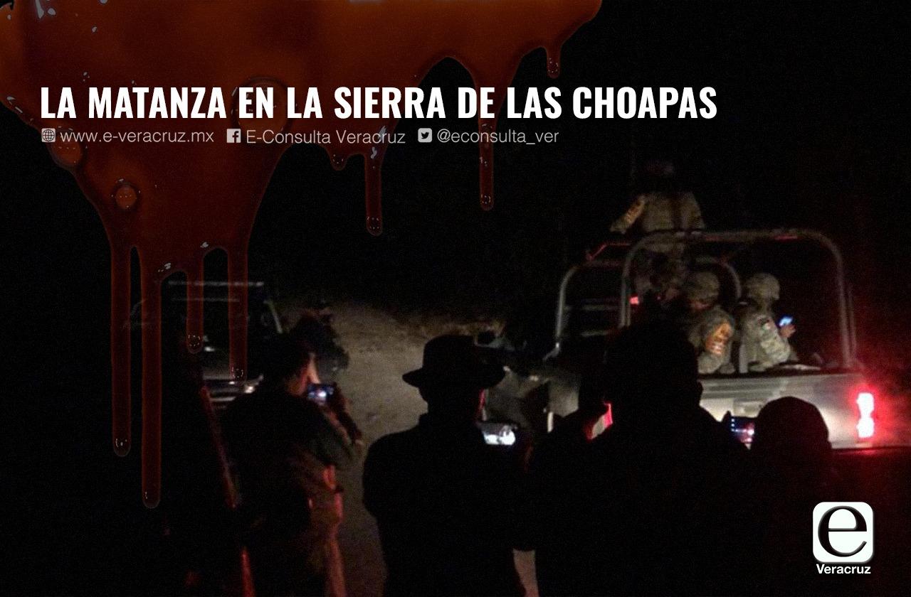La matanza en la sierra de Las Choapas