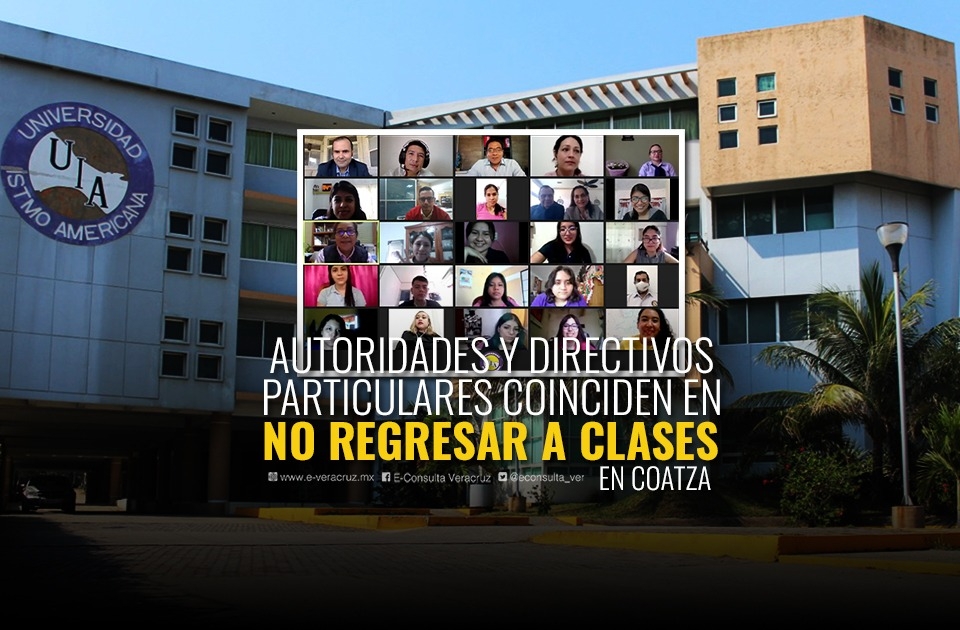 En Coatzacoalcos rechazan regreso a clases de escuelas privadas