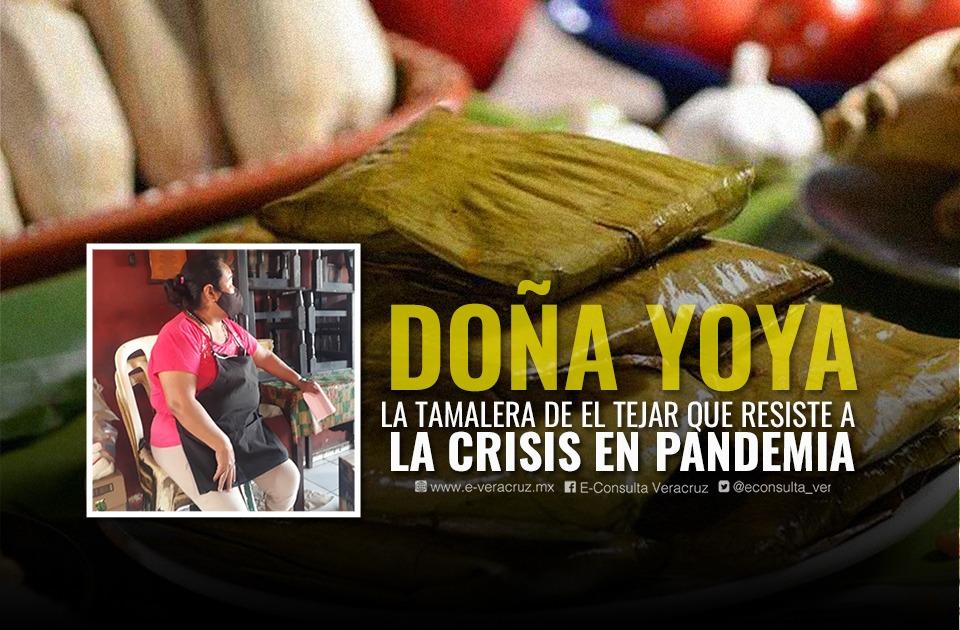 Tamales de Doña Yoya sobreviven ante la crisis por pandemia