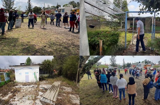 Vecinos de Lomas Verdes van contra construcción del DIF