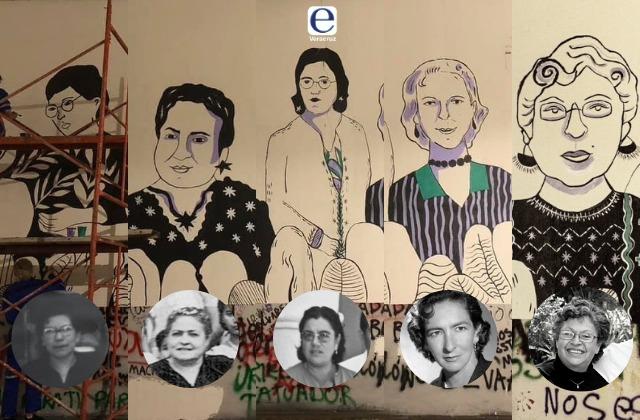 ¿Quiénes son algunas de las mujeres retratadas en viaducto?