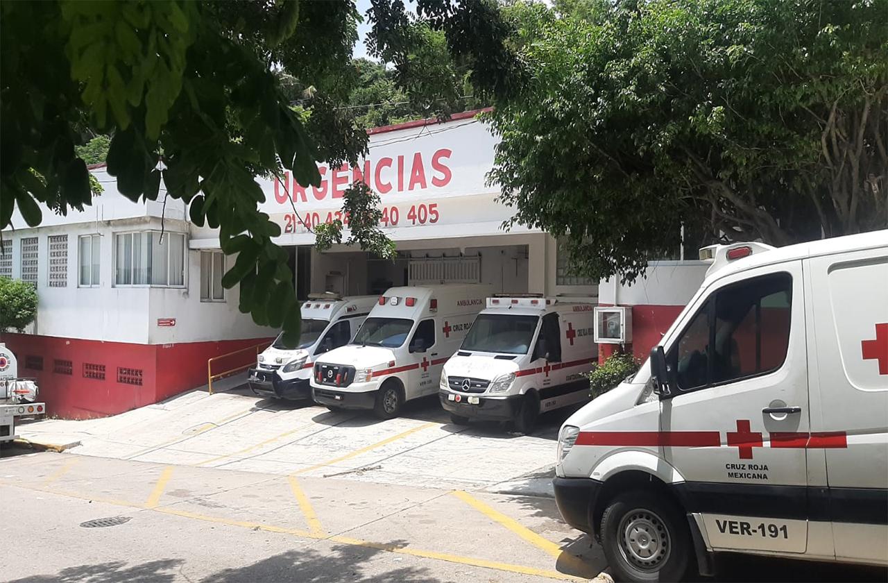 Aumentan traslados de pacientes por covid en Coatza: Cruz Roja