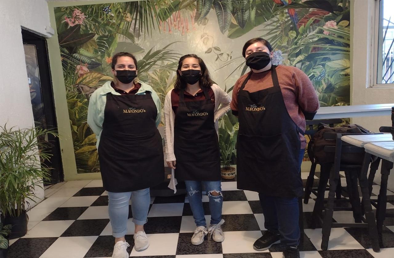 Sin miedo a la crisis, xalapeñas crean en pandemia Café Macondo's