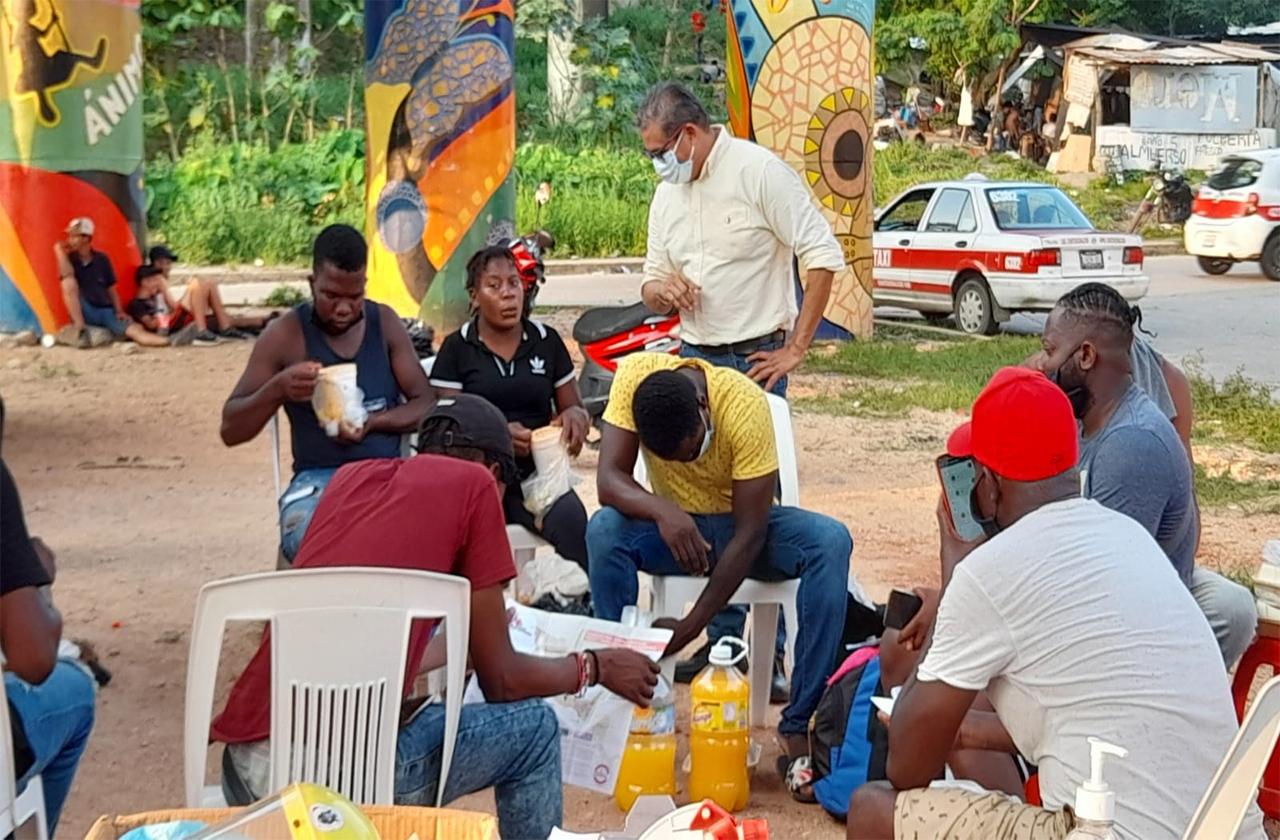 Rescatan a migrantes en Coatza; acusan extorsión por parte de SSP