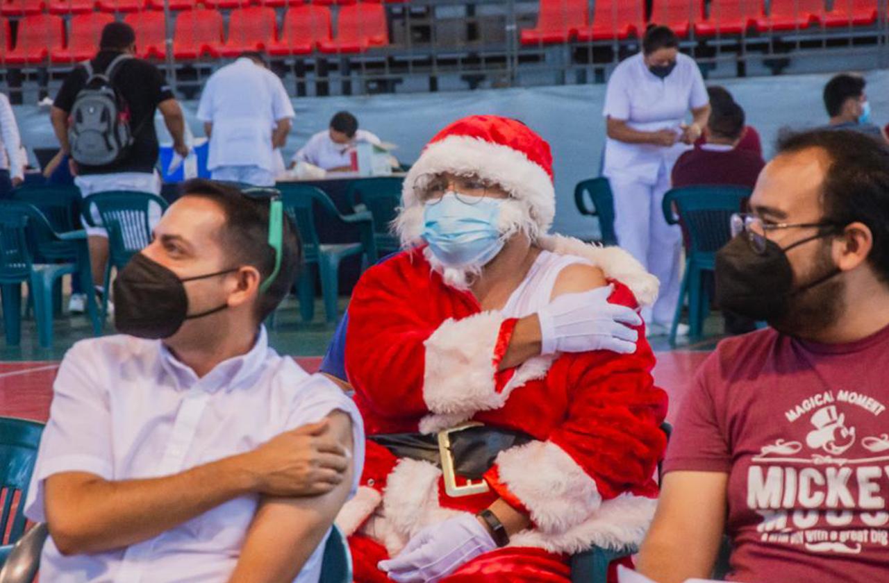 Santa recibió su vacuna en Córdoba; conoce su historia