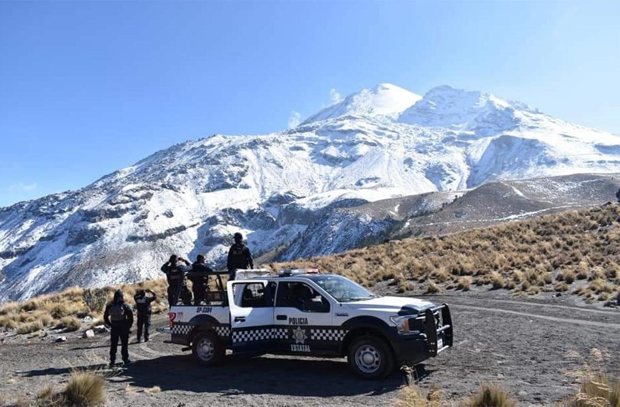 Por poco linchan a presuntos asaltantes en faldas del Pico de Orizaba