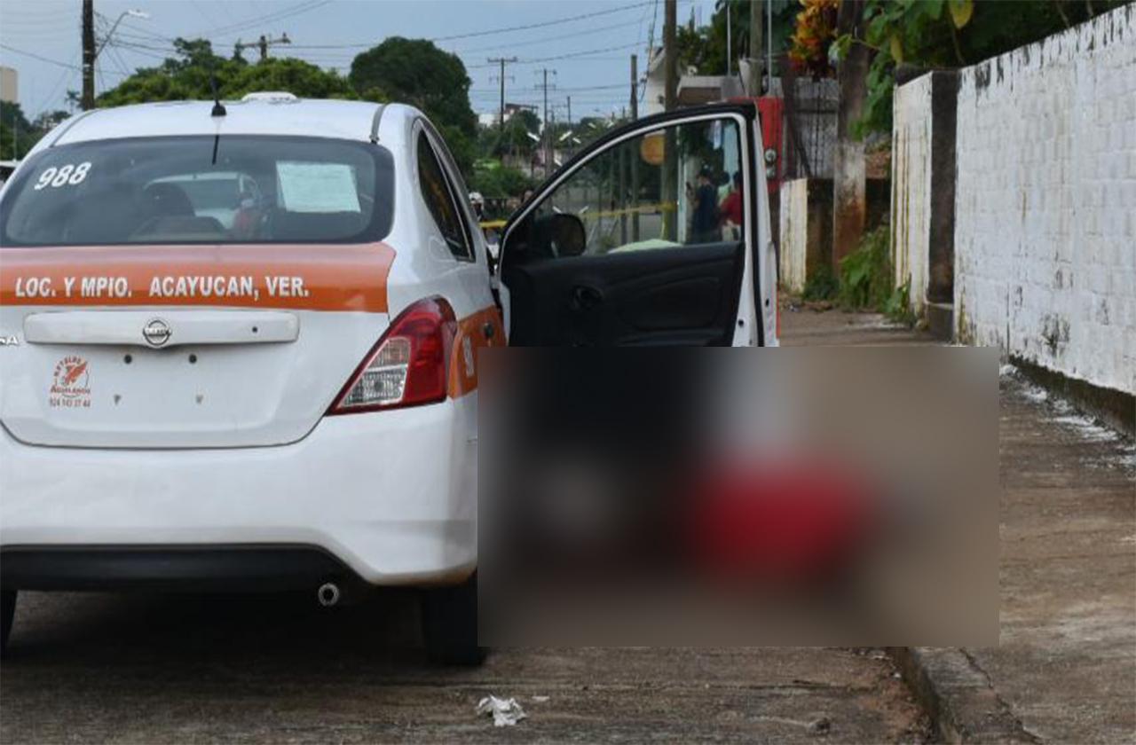 Prestamista es asesinado frente a su domicilio en Acayucan