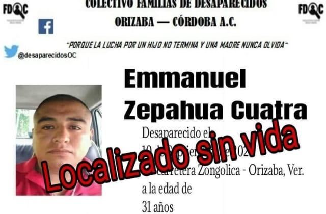 Emmanuel desapareció y fue hallado descuartizado en Rafael Delgado