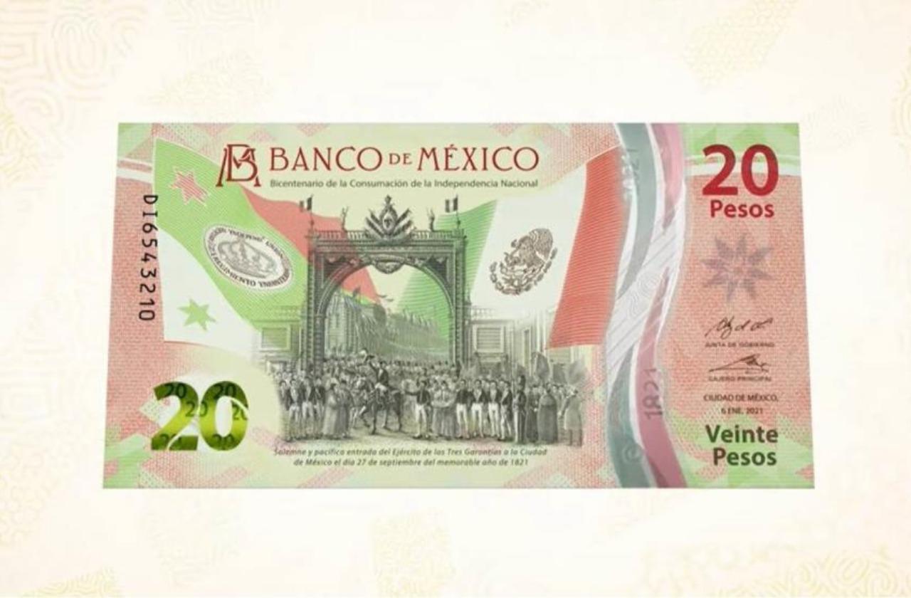 El nuevo billete de 20 pesos le dice adiós a Benny, conócelo