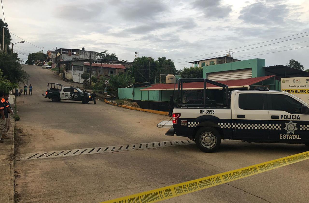 Con un block, asesinan a hombre en situación de calle en Acayucan