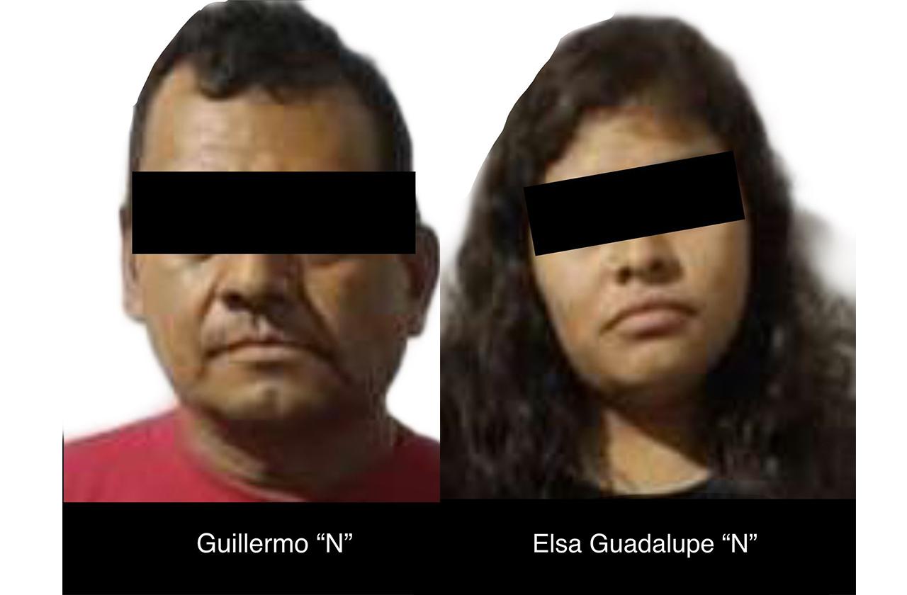 Cae pareja con 43 dosis de cristal en la Carolino Anaya de Xalapa