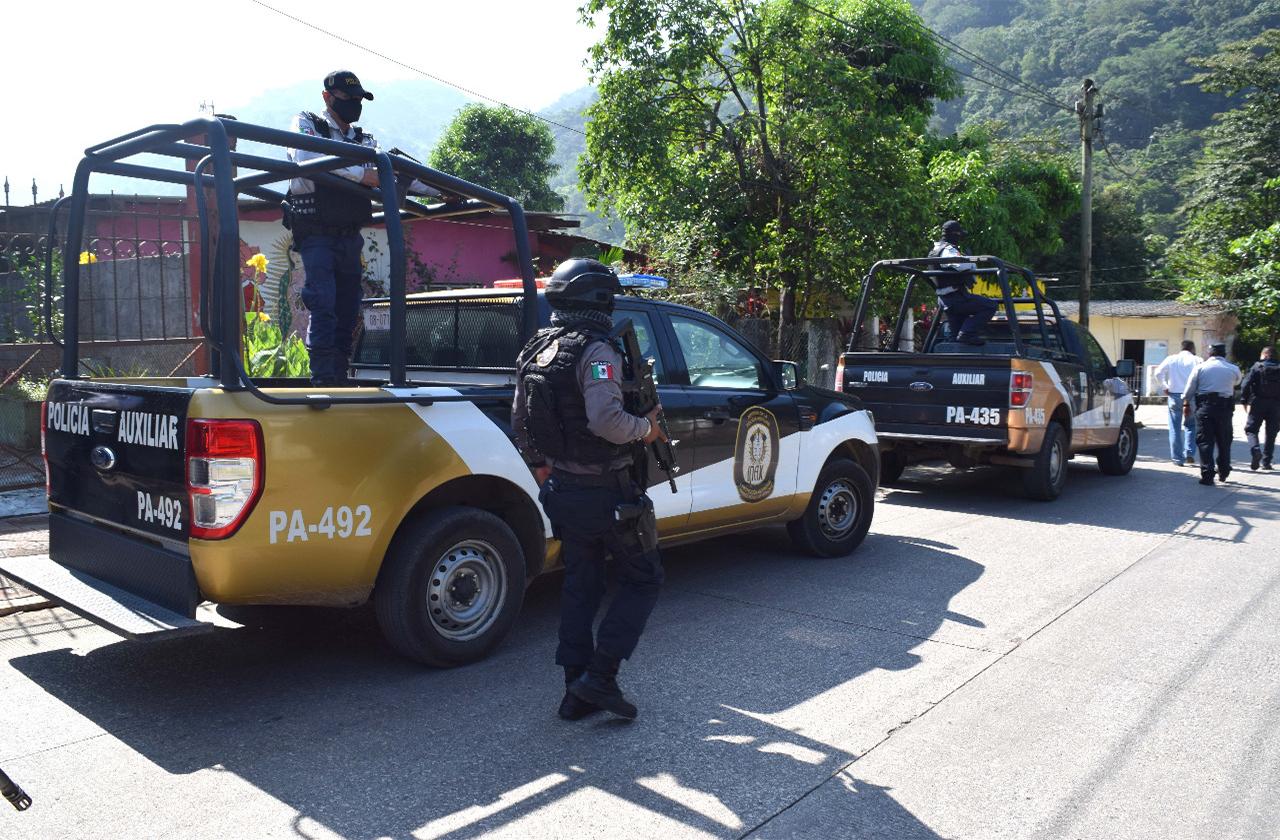 IPAX inicia búsqueda de responsables de elemento asesinado en Tezonapa