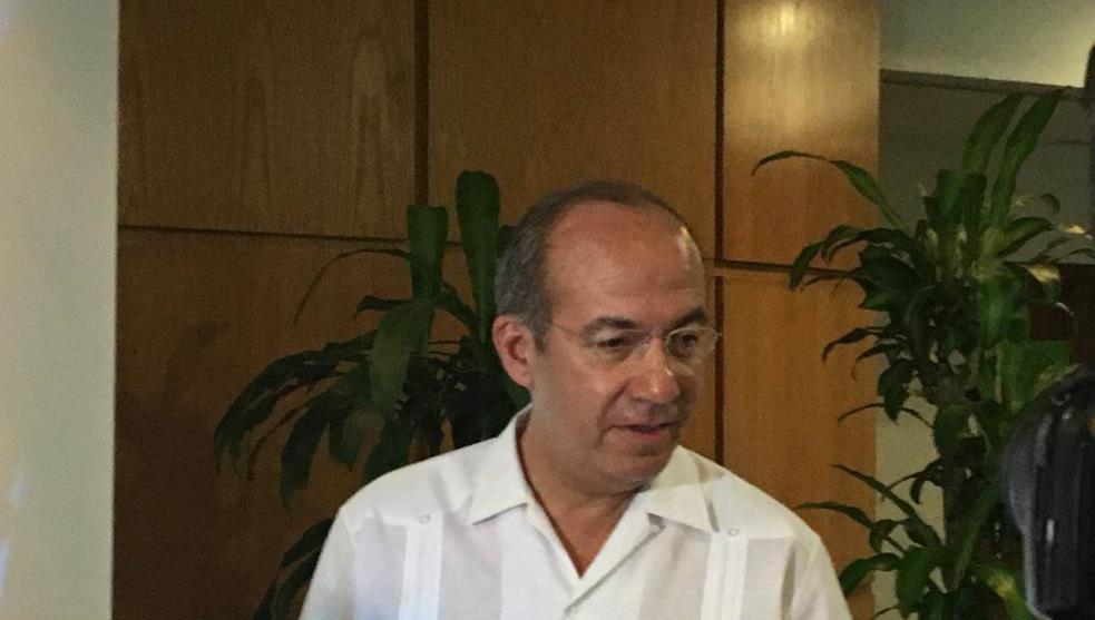Guerra contra el narco no originó violencia: Calderón