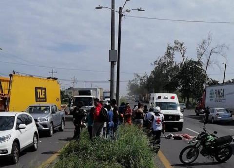 Motociclista atropellado en la Veracruz-Xalapa era estudiante de la UV