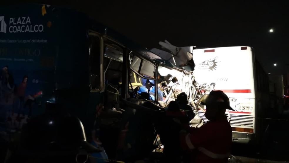13 muertos, saldo de accidente en la México-Pachuca
