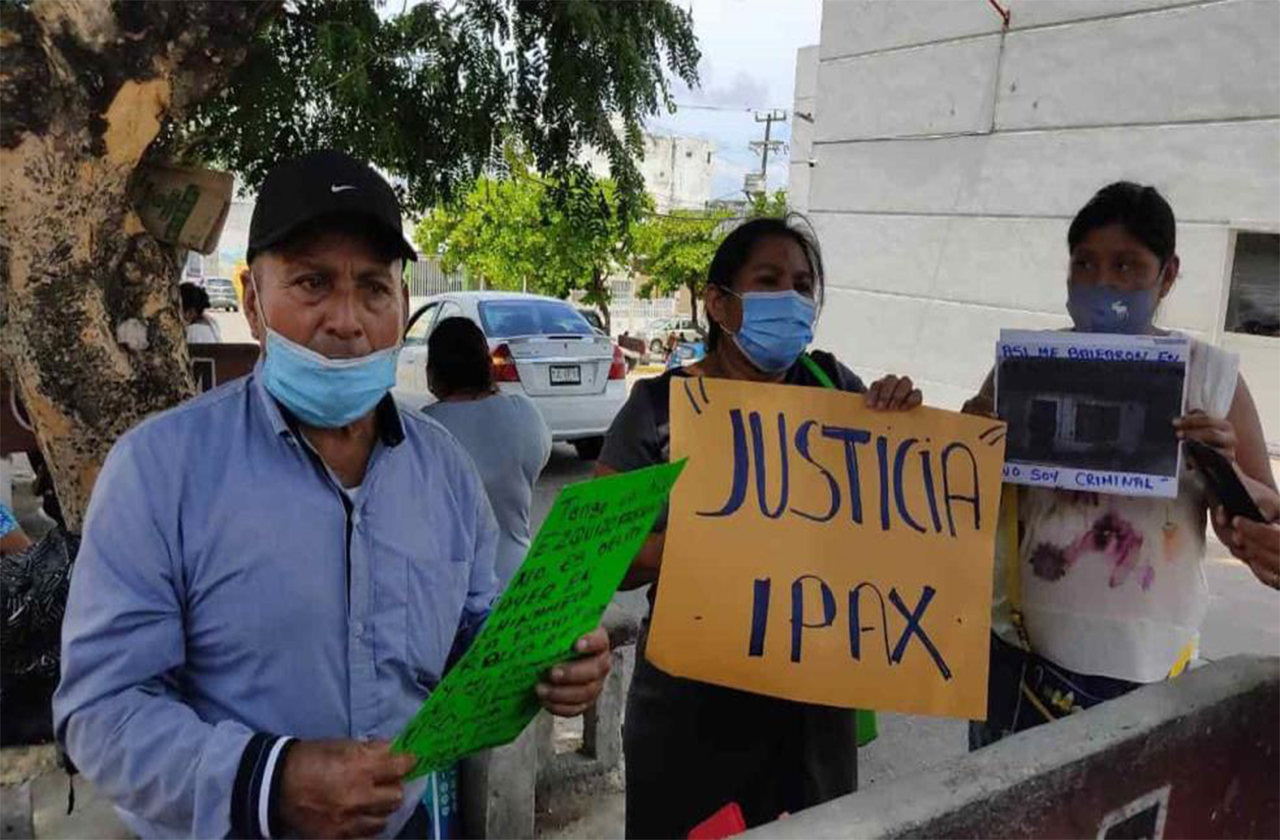 Denuncian abuso de autoridad del IPAX por detener a joven en Chinameca