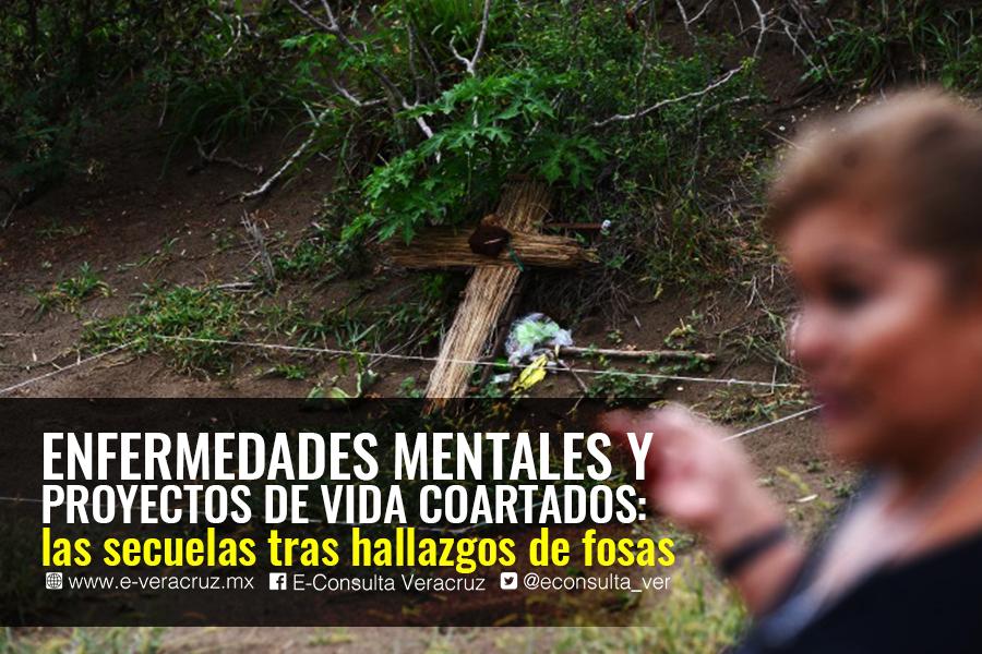 Así destroza la desaparición forzada núcleos familiares, en Veracruz