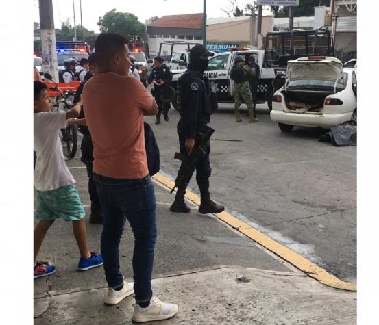 SSP detiene a 4 supuestos maleantes tras persecución en Xalapa