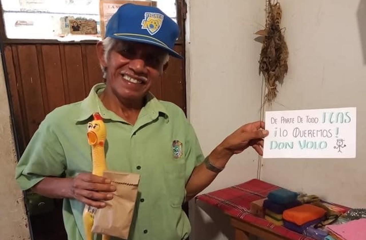 Xalapeños llaman a la solidaridad para ayudar a Don Volo