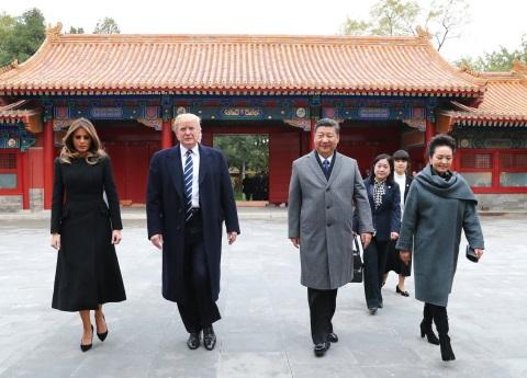 Bienvenida imperial de Xi a Trump en primer viaje a China