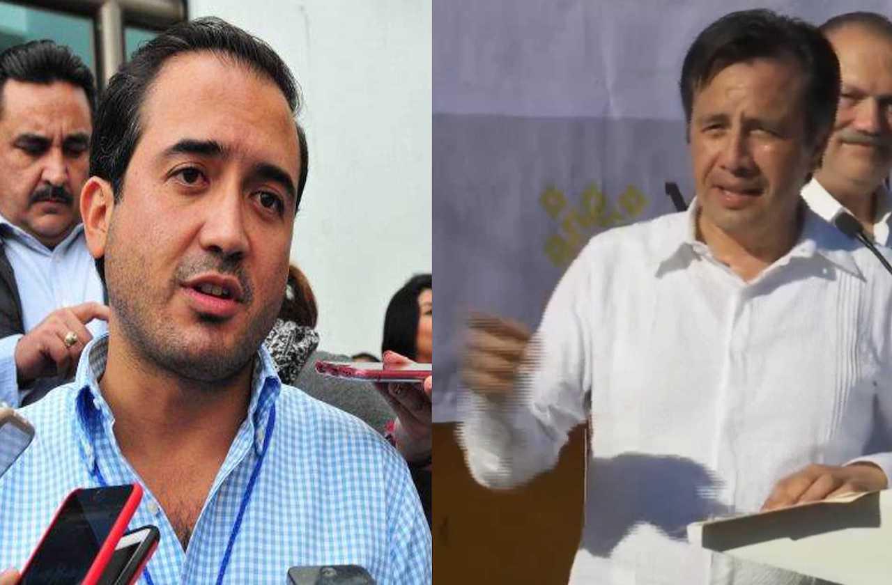 Cuitláhuac responde a Yunes: no ha solicitado fuerza pública para playas