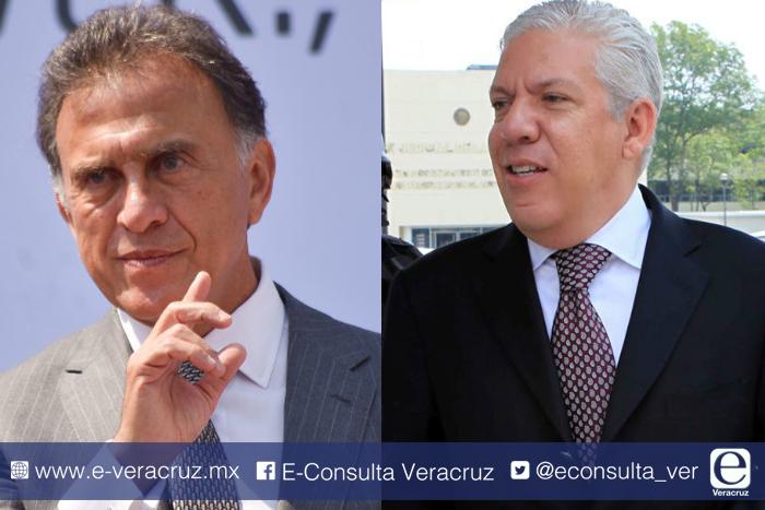 Abogado de Duarte y Yunes cruzan declaraciones