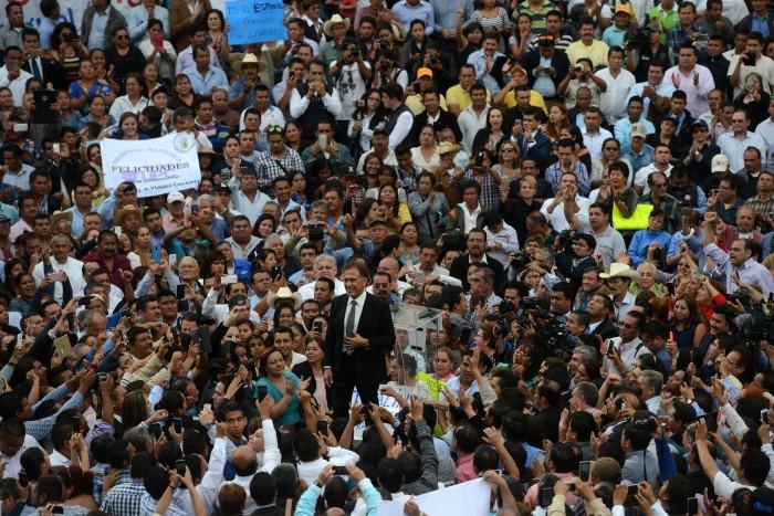 Gobernador rendirá cuentas dos veces por año: Yunes Linares