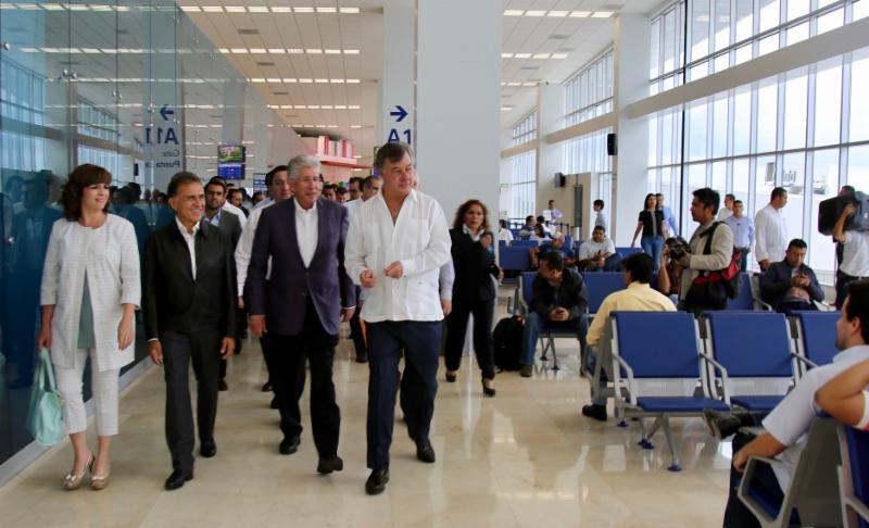 El nuevo edificio del Aeropuerto Internacional de Veracruz atraerá mayor inversión, turismo y generará miles de empleos: Yunes