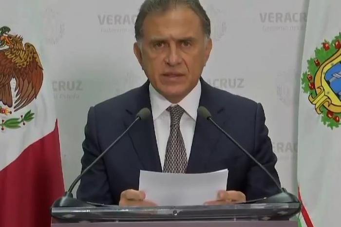 Yunes culpa a federación de no juzgar a Duarte por desapariciones