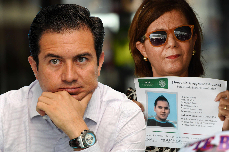 Tras críticas, Yunes Márquez irá a conversatorio con madres de desaparecidos