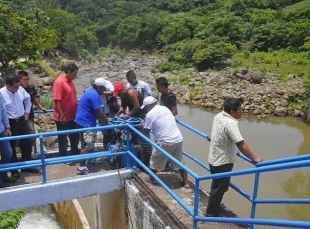 Ahora con Cuitláhuac cierran válvulas de presa Yuribia