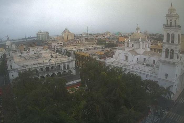 Frente frío, lluvias y evento de norte para fin de semana en Veracruz