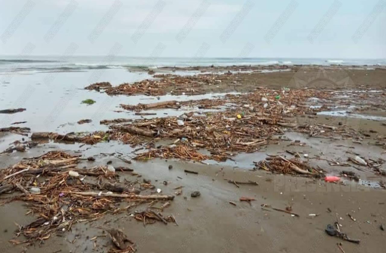 Zona costera y obras de Coatza, amenazadas por erosión