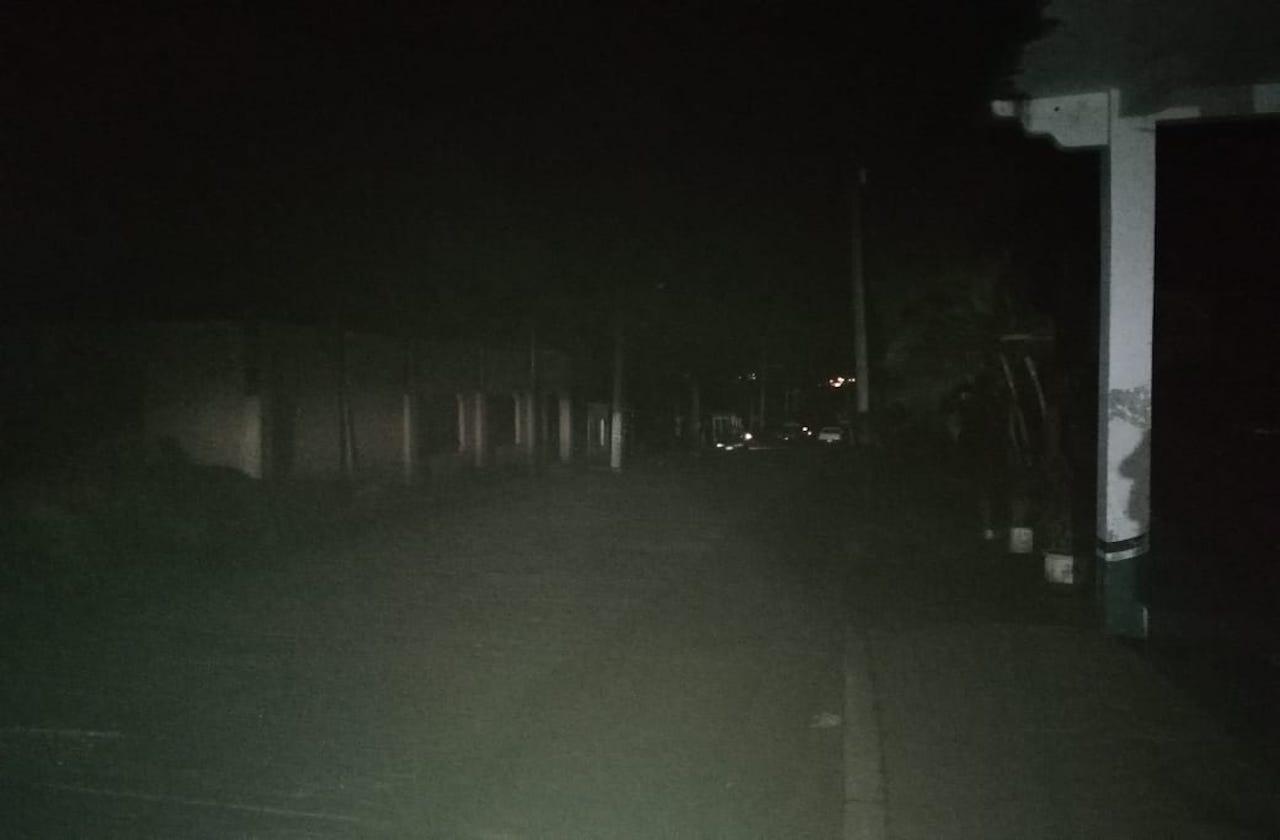 Zona sur, con fallas en servicio de energía eléctrica en Nochebuena