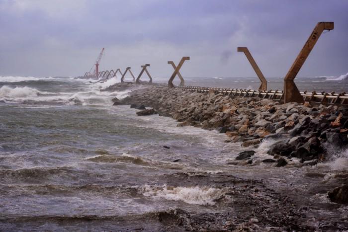 Frente Frío ya está sobre Veracruz, avanza hacia la zona sur