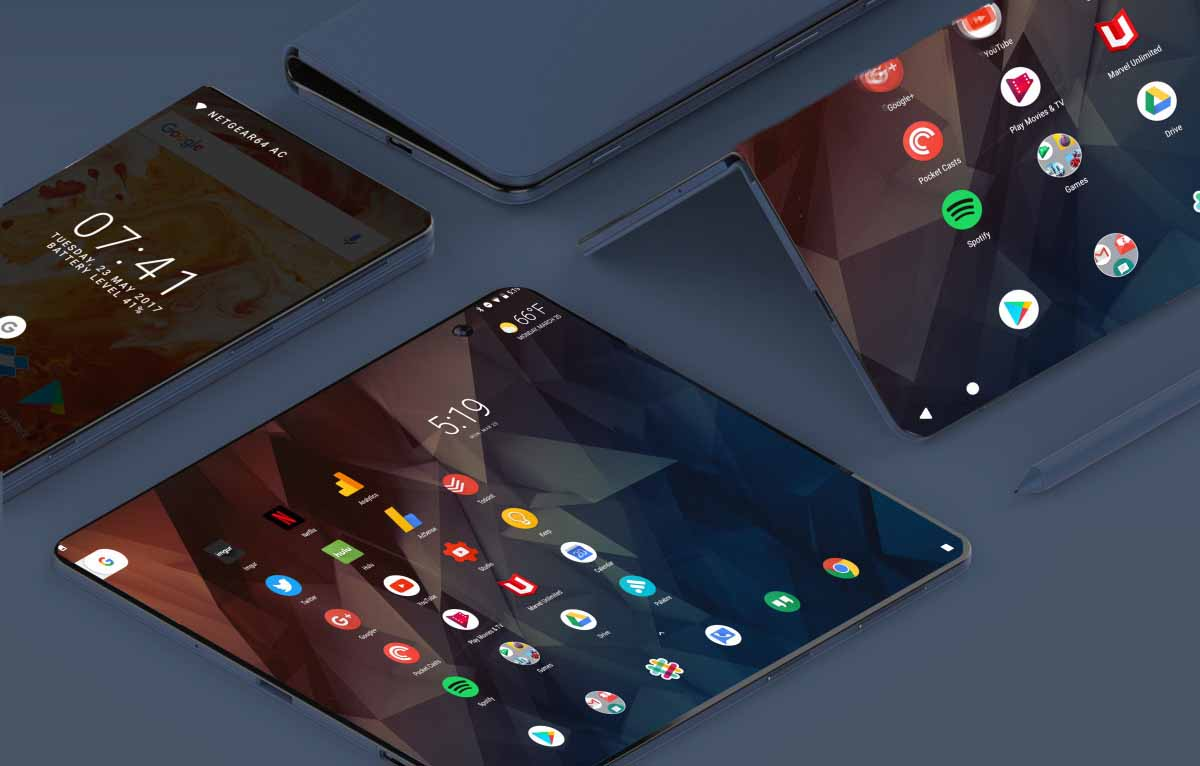 ZTE lanza smartphone de doble pantalla plegable